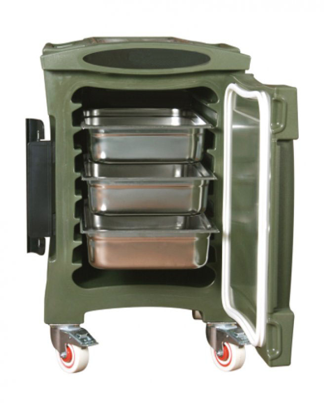 Rotomolded Catering Carts on Wheels