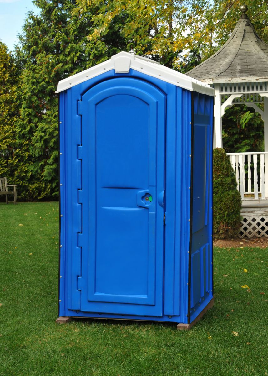 Rotational Molded Blue Portable Toilet China Top Rotomolding